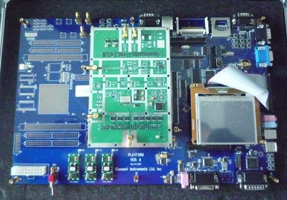软件无线电开发平台armdspfpgarf开发板综合实验平台