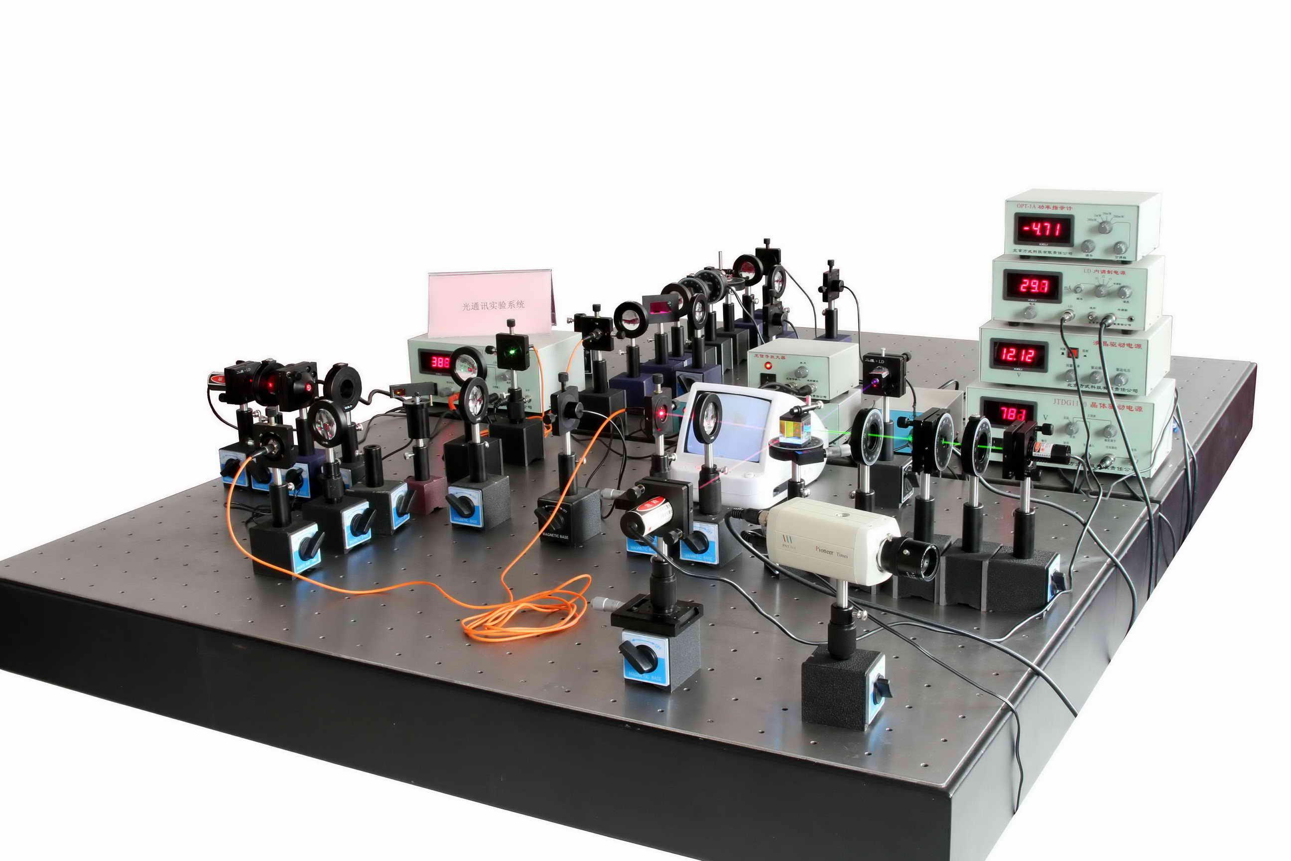 光通讯综合实验系统-波分复用