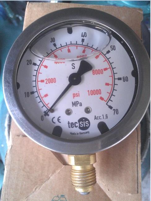 硅油防震不锈钢压力表