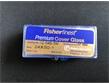 Fisher 进口 盖玻片 纯净白玻璃制成 矩形盖玻片 12-548-5M