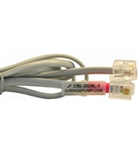 CBL-DUAL-3,RS232 Pump Synchronization Cable 3ft