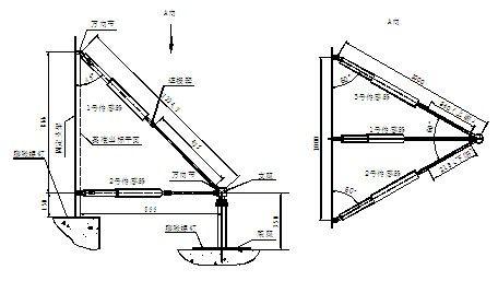 三向测缝计结构示意图