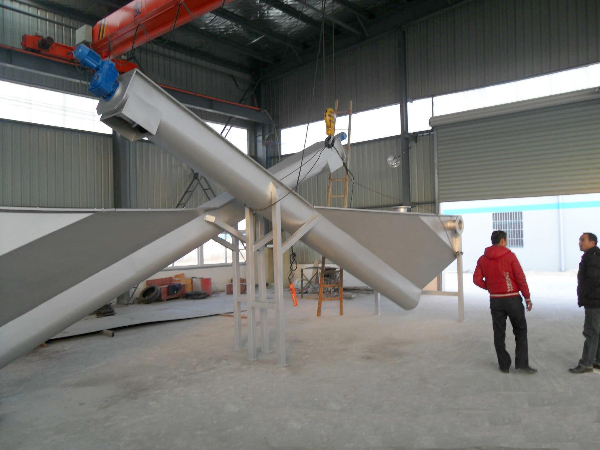 螺旋砂水分离器 沙水分离器 不锈钢砂水分离设备
