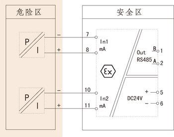 txa206a智能模块接线图